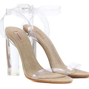 Yeezy Season 6 Lucite (Transparent) Heels